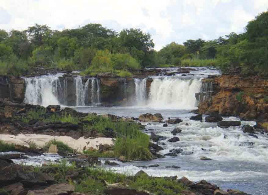 Liuwa falls