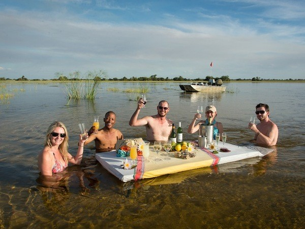 Drinks in Zambezi River