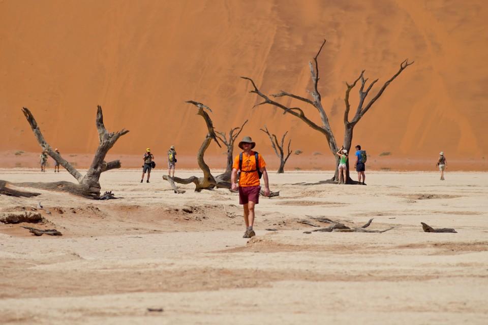 Namibia sossusvlei walk