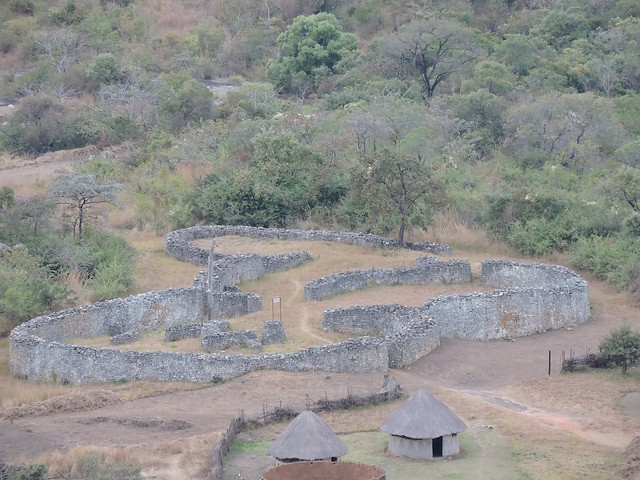 Great Zimbabwe Ruins  by Mike
