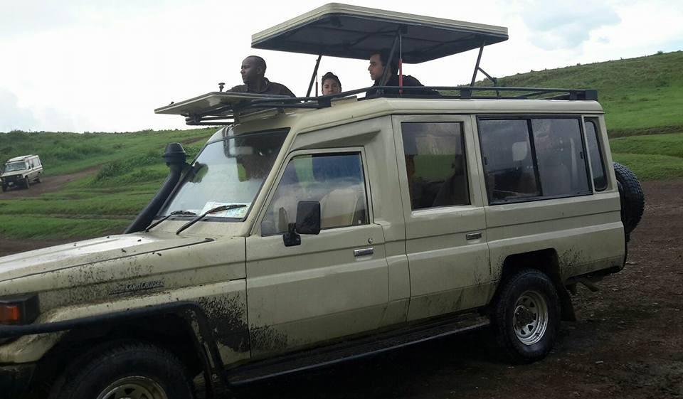 Tanzania 4x4 vehicle