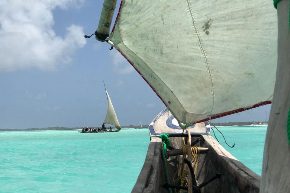 Zanzibar dhow  by Jenn