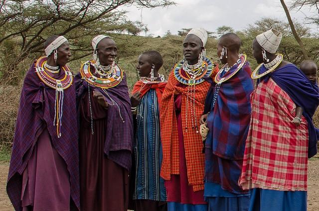 Maasai women  by Colin J. McMechan