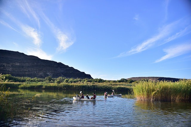 Orange River  by South African Tourism