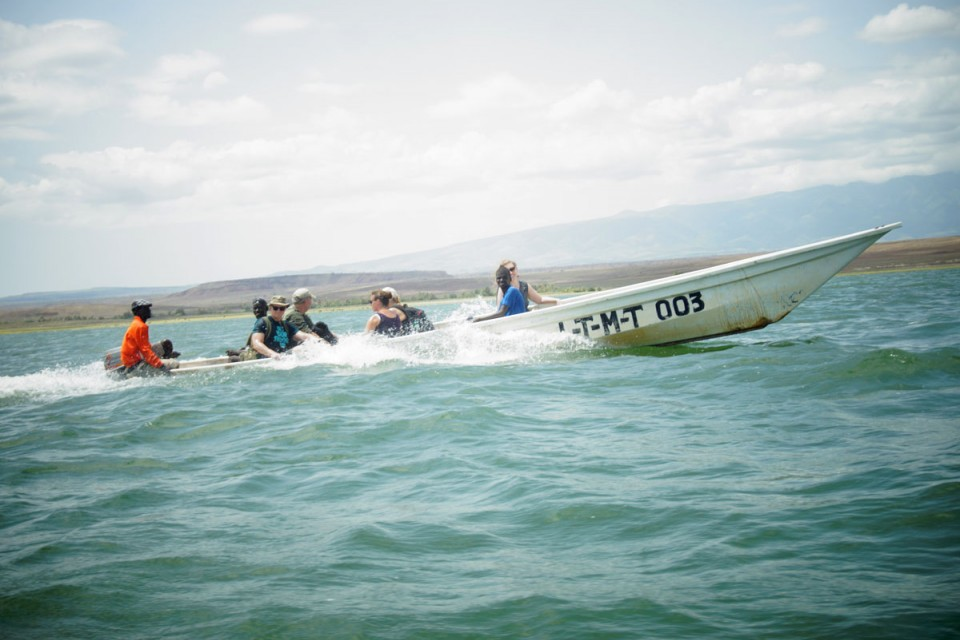 Lake Turkana boat ride