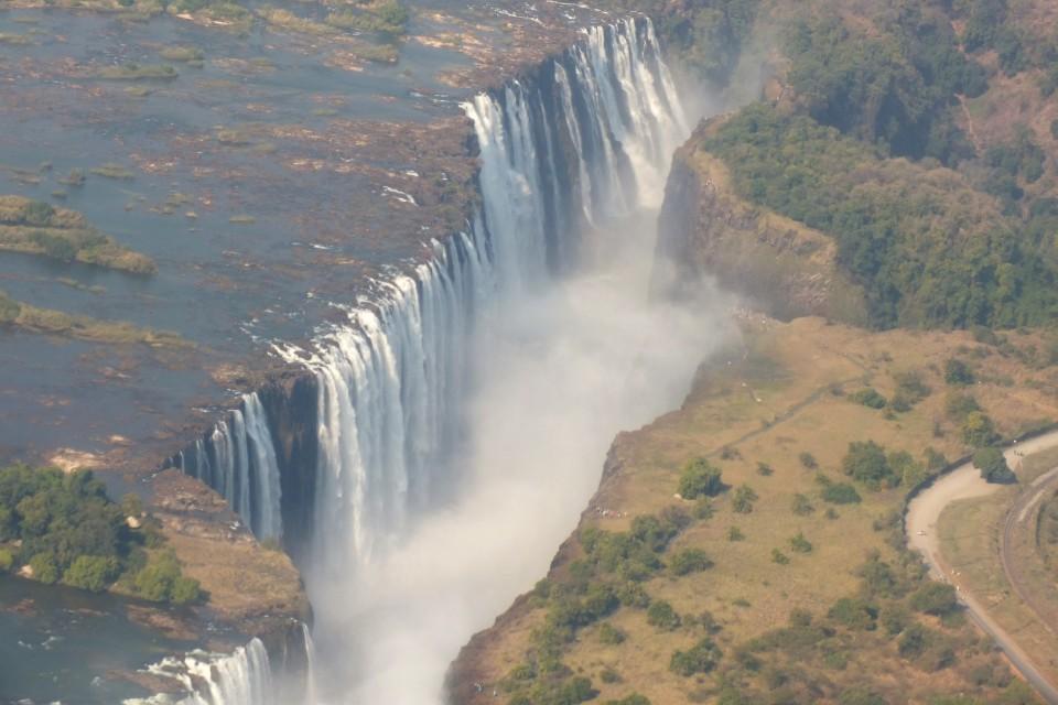 Victoria Falls  by Chris Parker