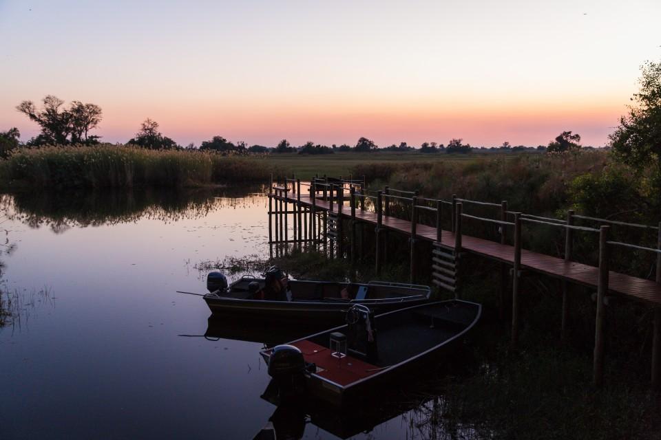 Sunset on Chobe River