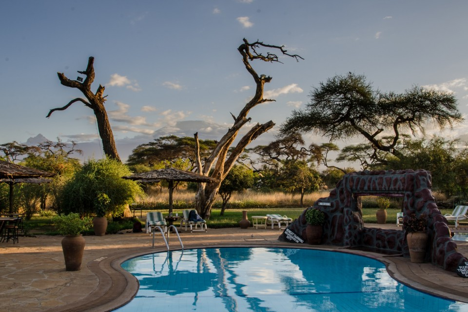 Camp in Amboseli