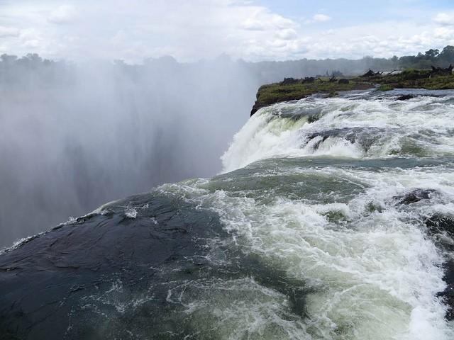 Devil's Pool, Victoria Falls  by Charles Haynes