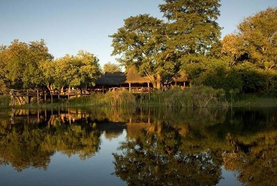 Caprivi Strip Lodge water