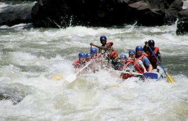 Whitewater rafting, Victoria Falls