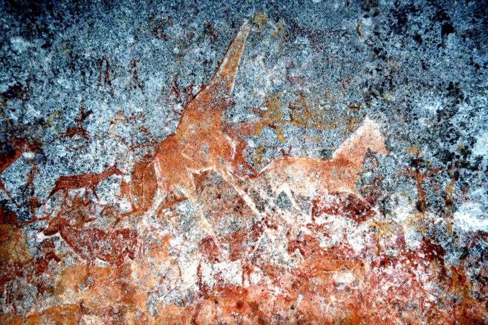 San rock art  by Kate