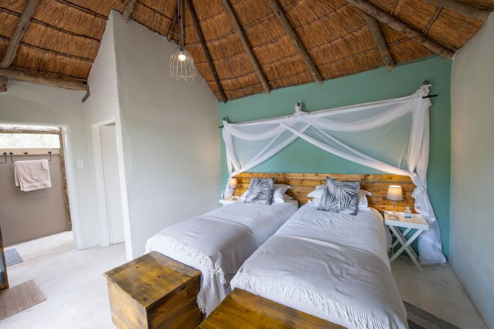 Khwai twin room