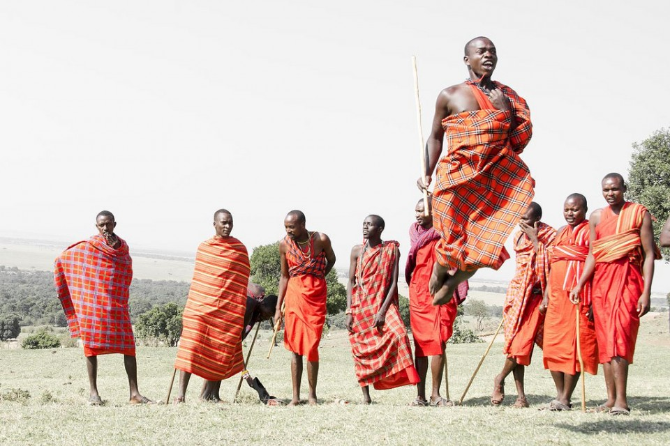 Maasai  by Christopher Michel