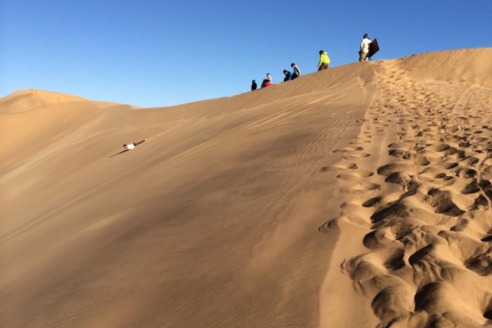Swakopmund sandboarding  by Brian Holsclaw