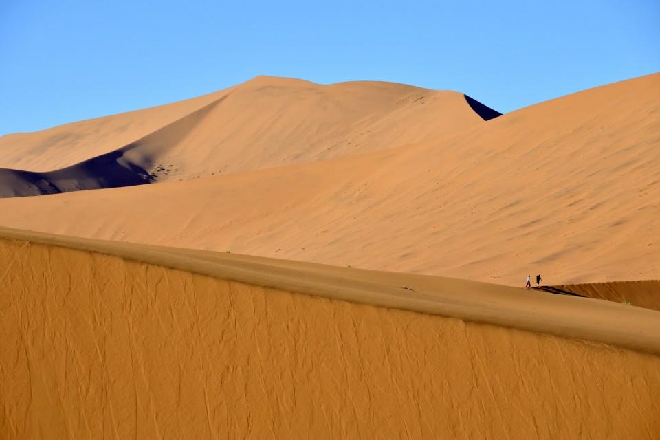 Sossusvlei Dunes  by Eric Bauer