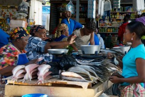 Maputo central market by Ryan Kilpatrick