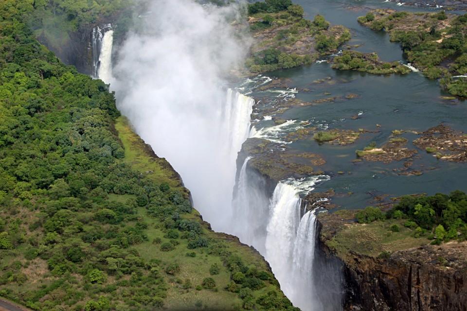Victoria Falls  by Pius Mahimbi