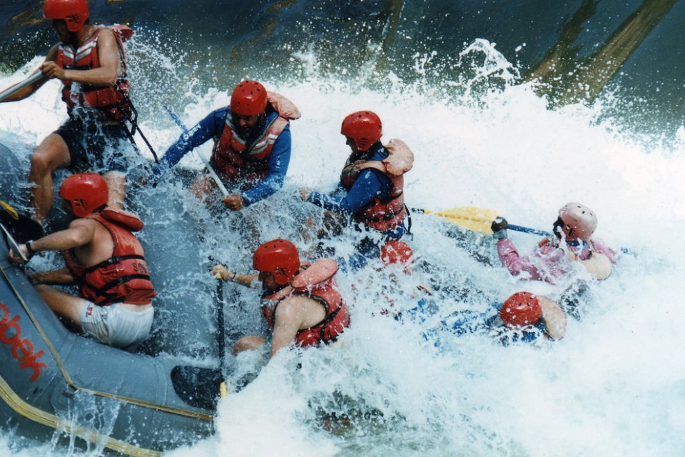 Zambezi rafting  by David Holt