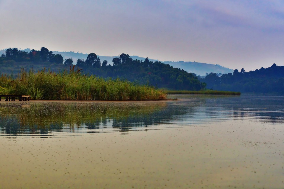Lake Bunyonyi  by Rod Waddington