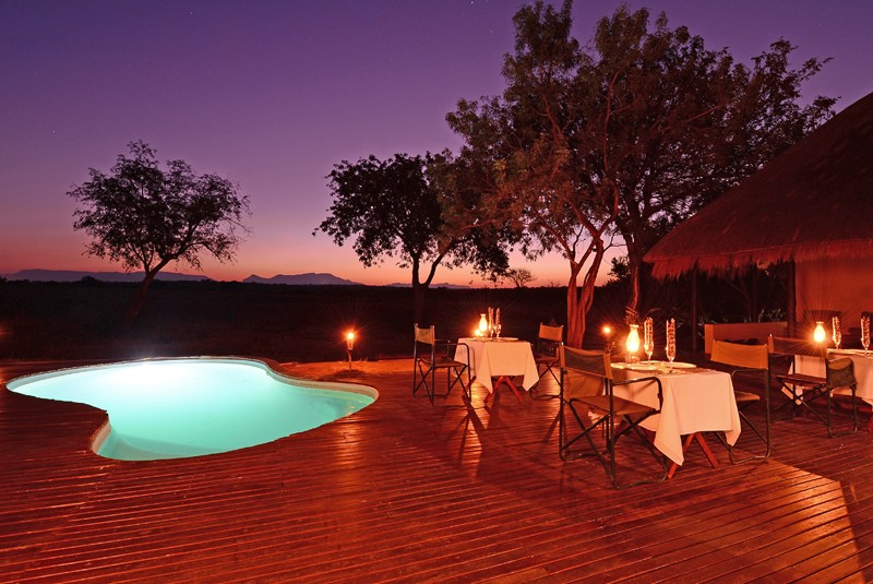 Thornybush lodge pool