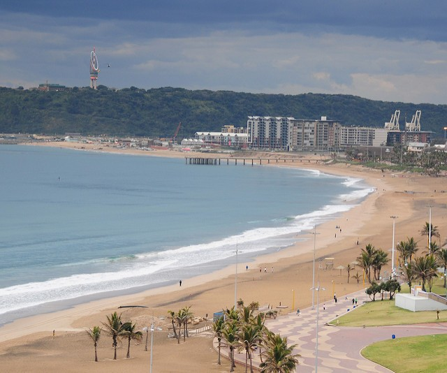 Durban Beachfront  by Vince Smith