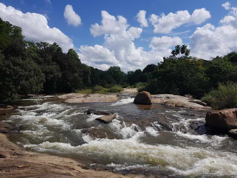 Sabie River rapids