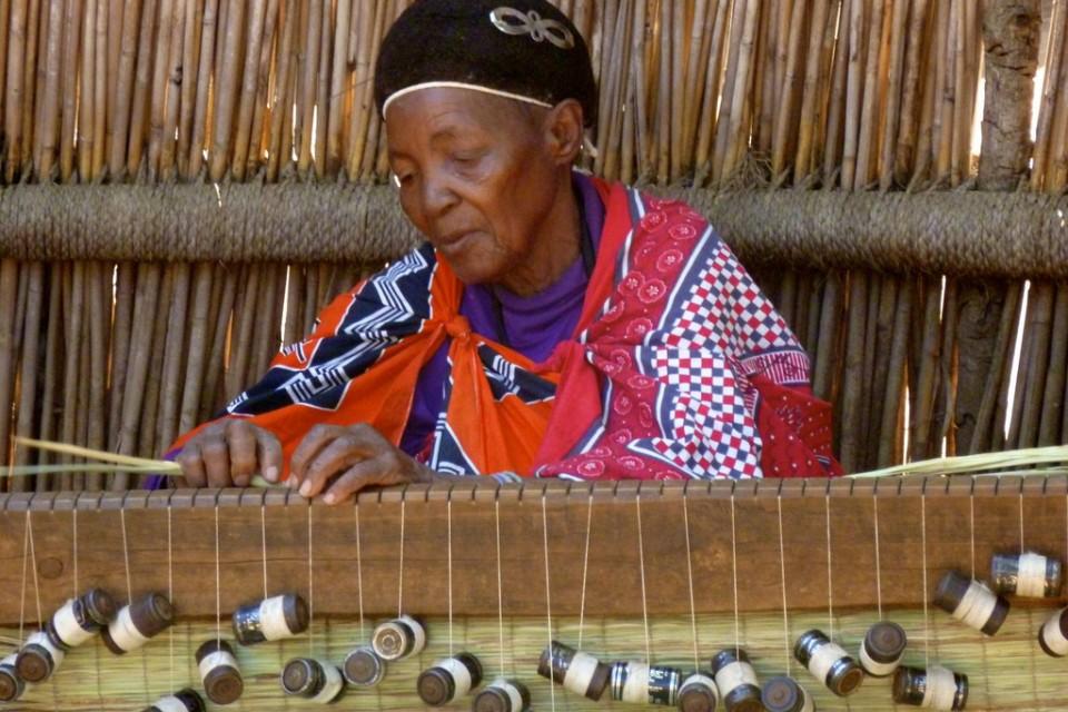 Weaving in Swaziland  by Rene C Nielsen