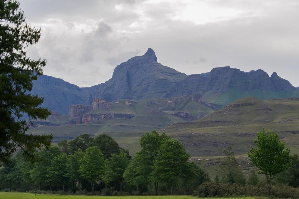 Drakensberg Mountains  by Michael Jansen