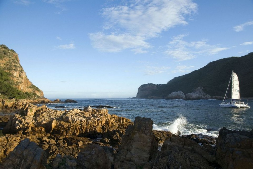 Knysna Lagoon & Head  by SA Tourism