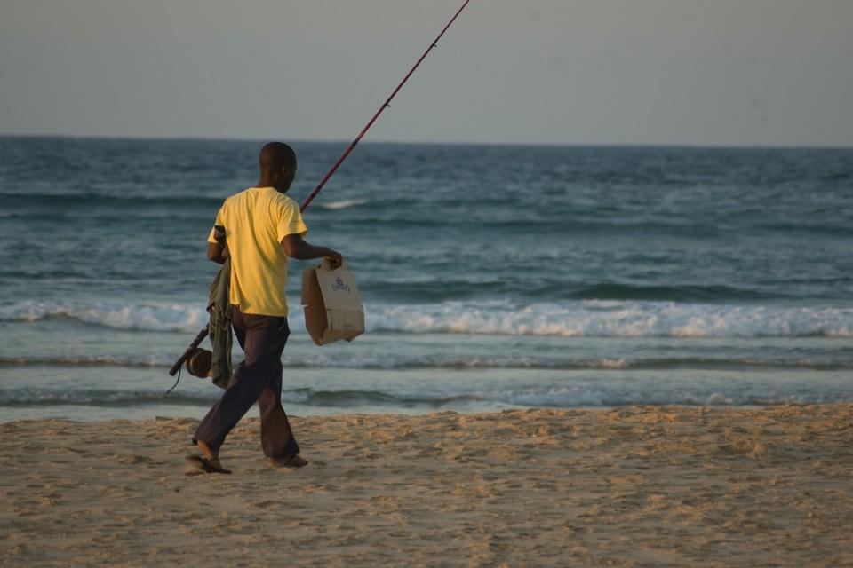 Tofo fisherman  by Emilio