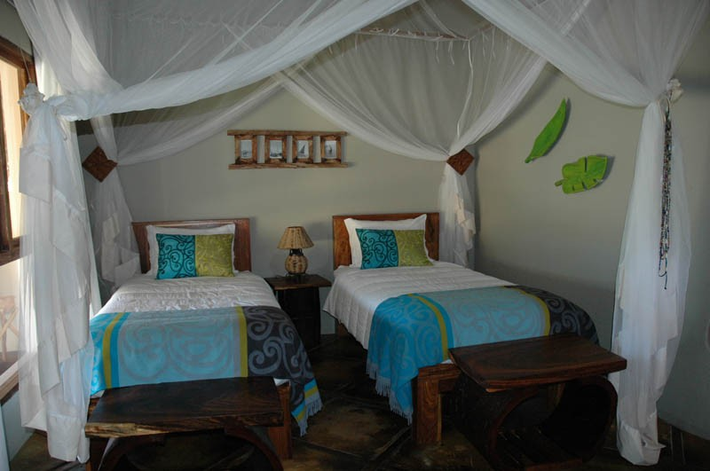Twin room, Mozambique