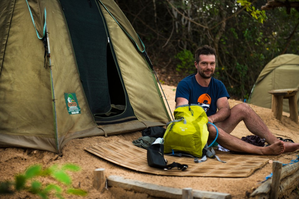 Mozambique camping