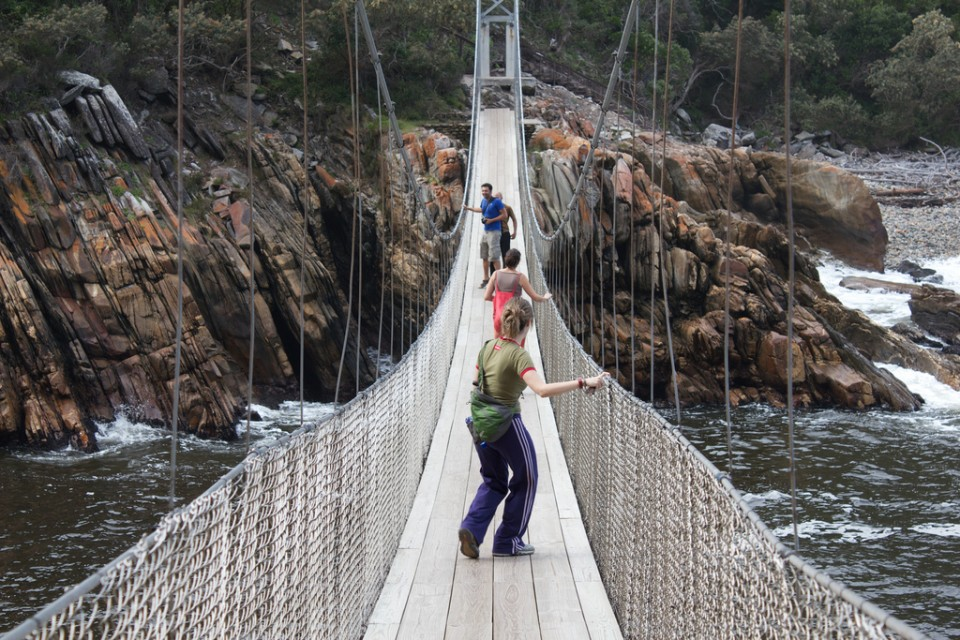 Suspension Bridge Tsitsikamma National Park
