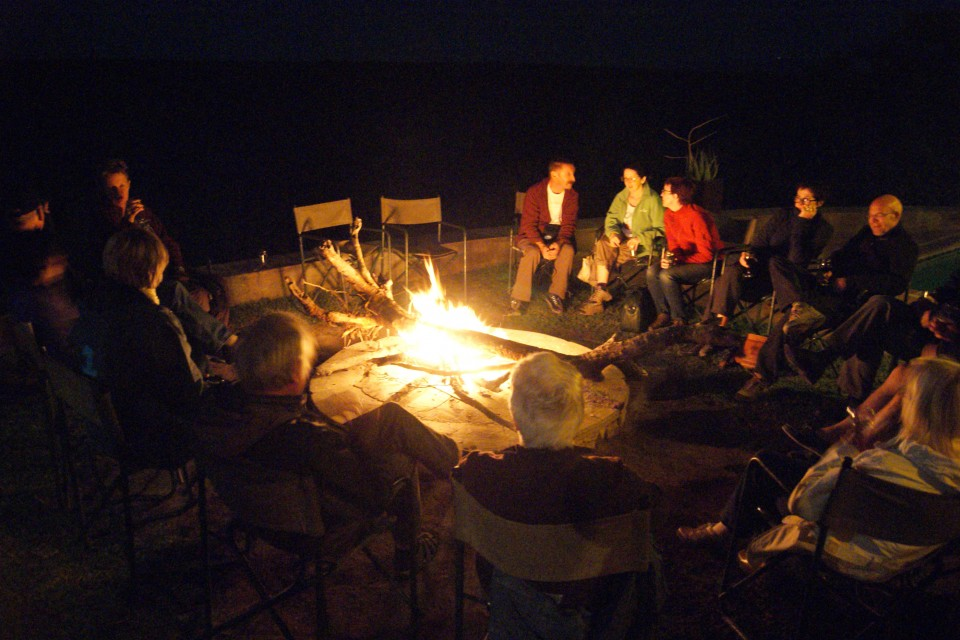 Campfire at Balule