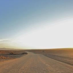 Endless road, namibia