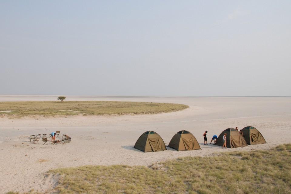 Camping at Saltpans