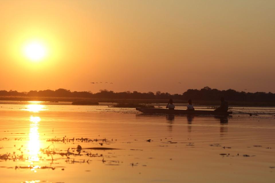 Mekoro sunset