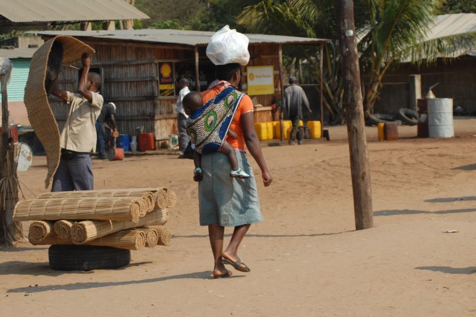 Massinga Market in Inhambane  by F Mira