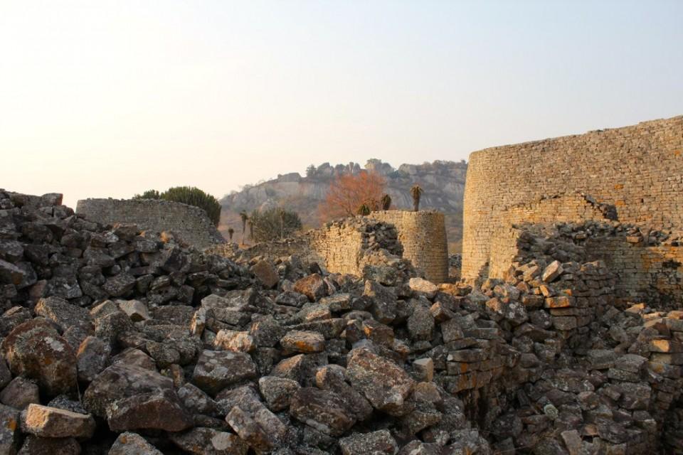 Zimbabwe Ruins  by Ross Huggett