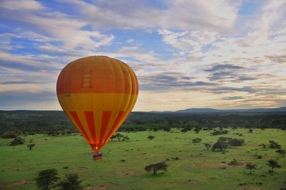 Masai Mara balloon ride  by Wajahat Mahmood