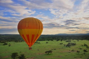 Masai Mara balloon ride by Wajahat Mahmood