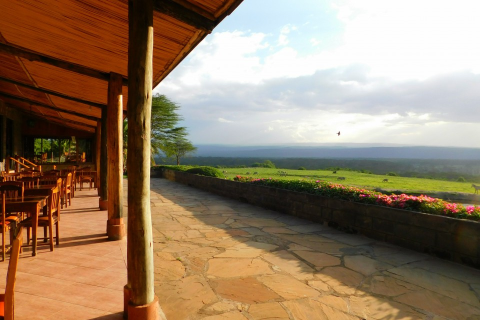 Nakuru lodge view