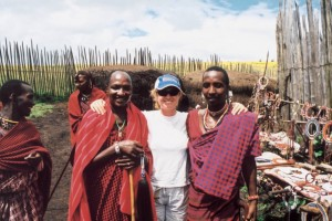 Masai and guest