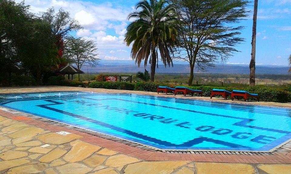 Nakuru lodge pool