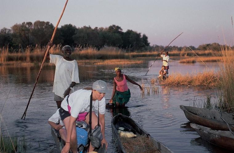 Mokoro on Delta Image