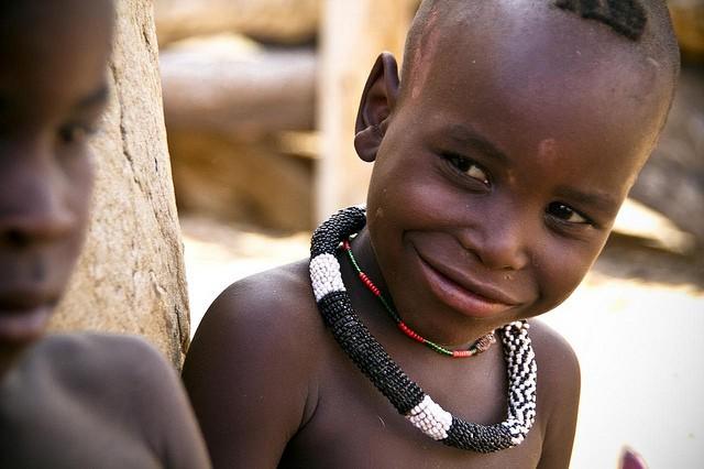 Himba child  by Marc Veraart