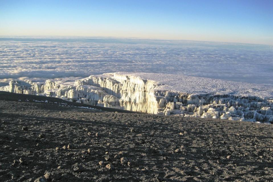 Kilimanjaro ice-sheet