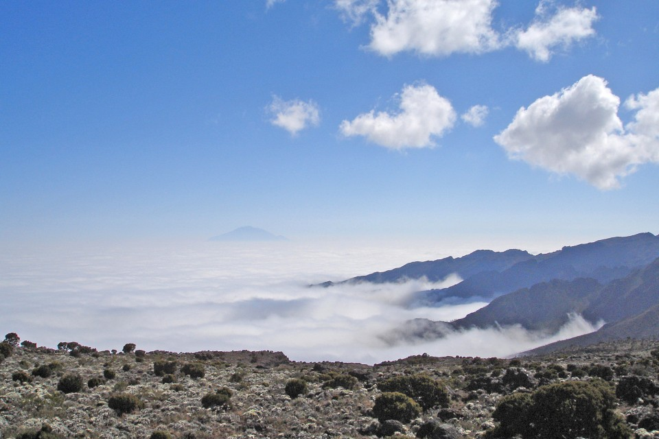 Kilimanjaro clouds