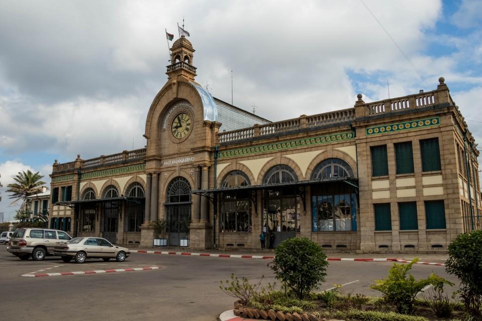 Antananarivo Station  by Daniel De Lapelin Dumont